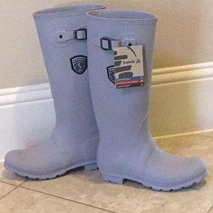 NWT Kamik size 10 waterproof rain boots